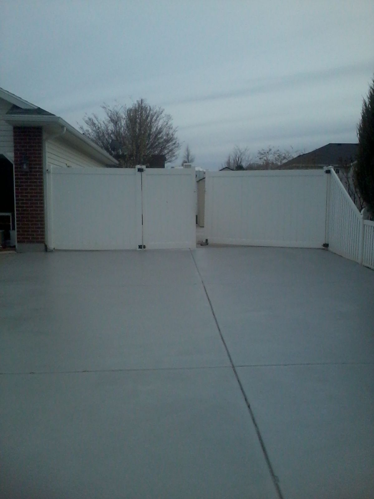 to cost garage concrete patios coating flake epoxy full floor pin